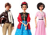 Auf Frida Kahlos Spuren: Barbie würdigt Power-Frauen