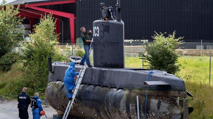 """An Bord der """"Nautilus"""" soll Madsen Wall misshandelt und ermordet haben."""
