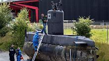 Prozessstart in Kopenhagen: Madsen lässt Mordvorwürfe zurückweisen