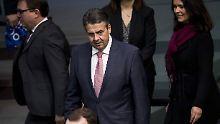SPD-Führung degradiert Gabriel: Nur noch einer von 709