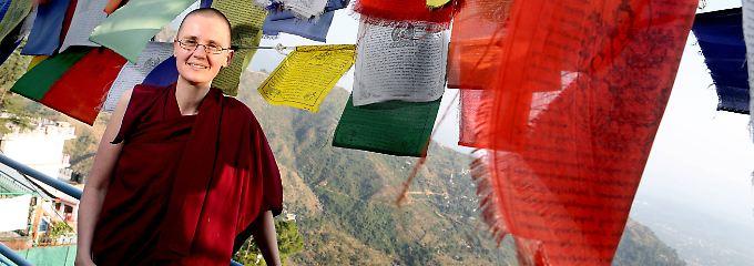 """Buddhas erste weibliche Gelehrte: """"Für die Tibeter war ich die weiße Krähe"""""""