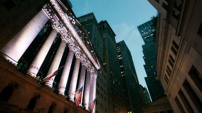 Der Dow Jones konnte heute leicht zulegen.
