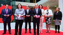Wer sitzt neben der Kanzlerin?: Das soll die neue SPD sein