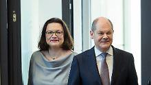 SPD präsentiert Minister: Das ist schon mal ein Anfang