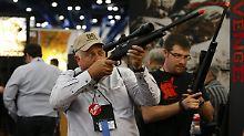 Lobby will keine Einschränkungen: NRA klagt gegen neues Waffengesetz