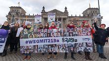 Streit um Werbeverbot: Union wütet gegen SPD-Abtreibungsvorstoß