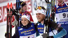 Skijäger enttäuschen in Finnland: Deutsche Biathleten verpatzen Mixed-Staffel