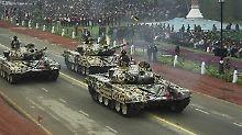 Indien rüstet massiv auf: Waffenhandel boomt im Mittleren Osten