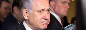 Benjamin Netanjahu muss eine schweren Koalitionskrise managen.