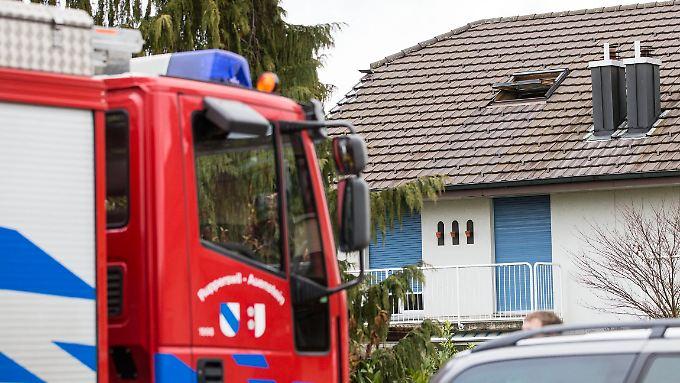 Der Mord an der Familie erschütterte den Ort, galt der Verdächtige doch als unauffälliger Nachbar.