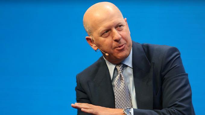 David Solomon hat gute Chancen, Nachfolger von Lloyd Blankfein, Chef von Goldman Sachs, zu werden.