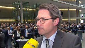 """Andreas Scheuer zur neuen GroKo: """"Ich freu' mich drauf"""""""