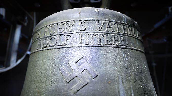 """So sieht sie aus, die """"Hitler-Glocke""""."""