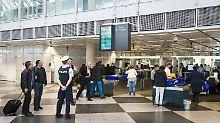 Eigenregie statt Bundespolizei: Flughafenkontrollen sollen schneller werden