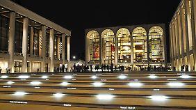 Die Metropolitan Opera ist eines der berühmtesten Opernhäuser der Welt.