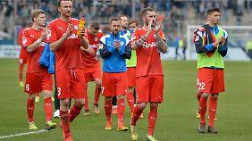 Steigt Holstein in die 1. Fußball-Bundesliga auf, könnte die Hamburger Heimstätte künftig zum Ausweichquartier werden.