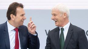 Wachstum trotz Abgas-Skandal: VW verteidigt Spitzenplatz als weltweit größter Autokonzern