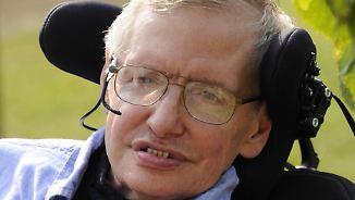 Genie und Popstar der Astrophysik: Stephen Hawking stirbt mit 76 Jahren