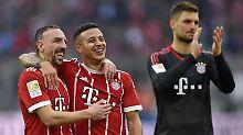Königsklassenentspannte Bayern: Mia san eh schon im Viertelfinale