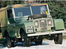 Der Land Rover Defender sollte eigentlich nur den US-amerikanischen Jeep ersetzen.