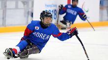 Kwang Hyouk Choi, paralympischer Eishockeyspieler.