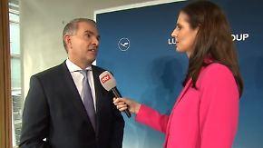 """Carsten Spohr zu Lufthansa-Rekordzahlen: """"Haben unsere Preise nicht angefasst"""""""
