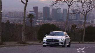 Aus vier mach fünf: Mercedes CLS ist ein Luxus-Coupé mit Platzproblem