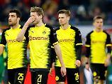 Aus bei RB Salzburg: BVB scheitert im Europa-League-Achtelfinale
