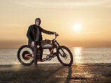 Das Cruzer kommt allein durch die Motorrad-Ästhetik ziemlich cool rüber.