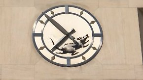 Rattenrennen auf New Yorks Straßen: Banksy kehrt zurück in den Big Apple