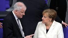 """""""Muslime gehören zu Deutschland"""": Merkel widerspricht Seehofer in Islam-Frage"""