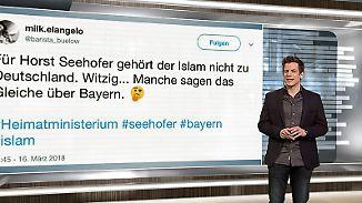 n-tv Netzreporter: Islam-Aussage von #Seehofer findet im Netz wenig Anklang