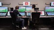 Bildschirm-Schiris in Russland: Fifa lässt den Videobeweis bei der WM zu
