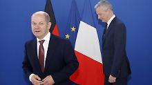 """""""Wollen nicht für alle zahlen"""": Scholz erklärt seinen EU-Plan"""