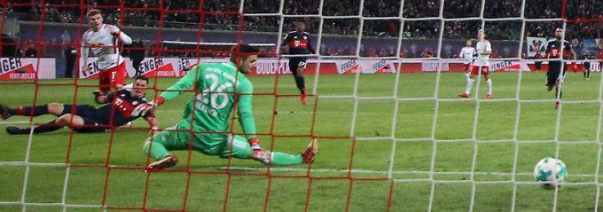 Werner kommt, stürmt, trifft: RB Leipzig feiert Comebacksieg gegen FC Bayern