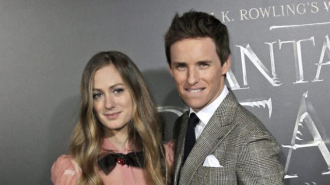 Eddie Redmayne und Hannah Bagshawe heirateten im Dezember 2015.