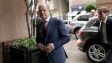 Olaf Scholz' erste große Reise als Finanzminister führt nach Buenos Aires.