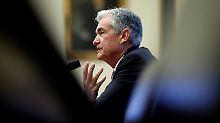 Jerome Powell ist seit Anfang Februar Chef der US-Notenbank.