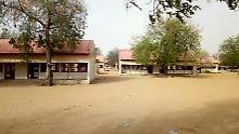 Aus dieser Schule im nigerianischen Dapchi wurden die 110 Schülerinnen Ende Februar verschleppt.
