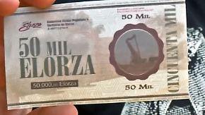Eigene Währung fürs Volksfest: Venezolaner wollen trotz Wirtschaftskrise ihren Alltag leben