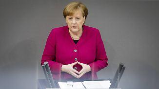 Flüchtlinge, Familienpolitik, Zusammenhalt: In ihrer Regierungserklärung skizziert Merkel ehrgeizige Pläne