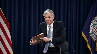 Leitlinien der US-Notenbank: Neuer Fed-Chef überrascht mit Zinsentscheidung