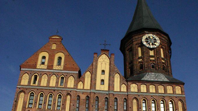 Backsteingotik in ihrer ganzen Schönheit: Kaliningrader Dom.