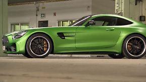 Giftschlange mit Stern: Mercedes-AMG GT R verlangt PS-Fans alles ab