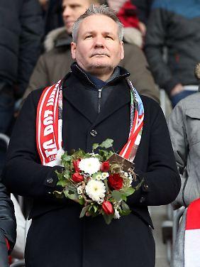 Frank Nowag ist derzeit Präsident mit lediglich beratender Funktion.