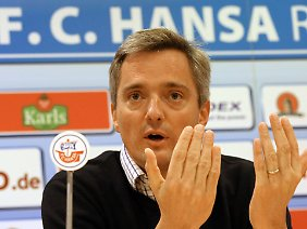 Rolf Elgeti engagiert sich beim FC Hansa Rostock.