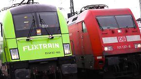 Premierenfahrt von Hamburg nach Köln: Flixtrain fordert die Bahn mit niedrigen Preisen heraus