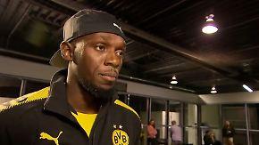 """Usain Bolt über seine Kicker-Ambitionen: """"Ich würde überall spielen - solange es ein Topklub ist"""""""