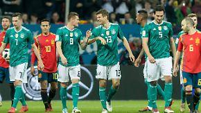 """Stimmen zum Testspiel gegen Spanien: """"Tor war viel zu schön für Thomas Müller"""""""