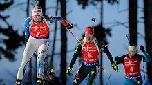 Mäkäräinen regiert im Biathlon: Dahlmeier verschenkt die letzte Kristallkugel